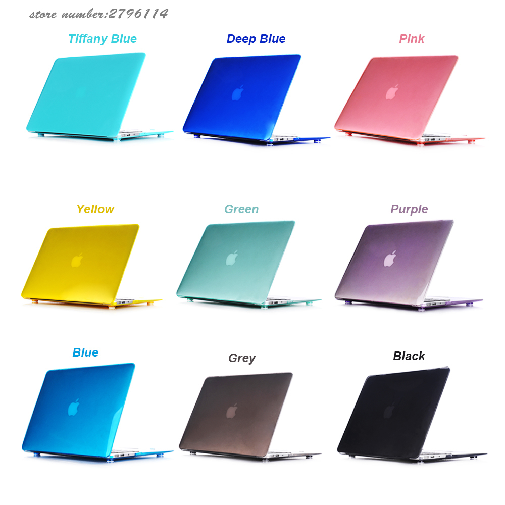 """TIFANY BLUE Crystal Hard Case for NEW Macbook Pro 15/"""" A1398 with Retina display"""
