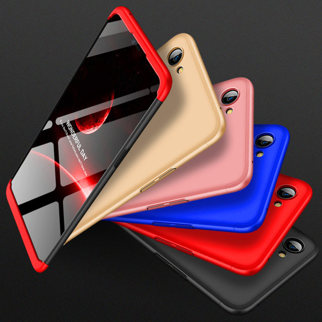 separation shoes 8a97f ec474 US $4.27 5% OFF|Oppo A 3 A3 Case 360 Degree Protected Full Body Phone Case  for Oppo A3 Shockproof Cover + Tempered Glass Film-in Fitted Cases from ...
