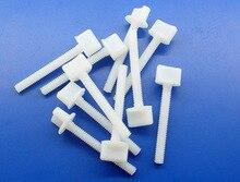 200 قطع * M4xL30 ملم جهة مدفوعة مسامير بلاستيكية ل rc نموذج