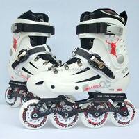 شحن مجاني الرول الزلاجات الرول أحذية v3 أسود أبيض اللون