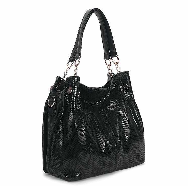 100% bolsos de cuero genuino para las mujeres 2019 bolsos de bandolera de moda bolsos de diseñador de lujo X-4 de cocodrilo cruzado de las señoras