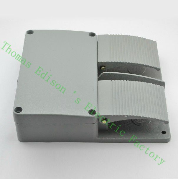 DIANQI YDT1-16 Foot Switch Pedal Foot Control Switch 250V 380V 6A double pedal use for bending machine punch цены онлайн
