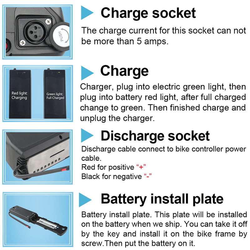 super 2 electric bicycle battery