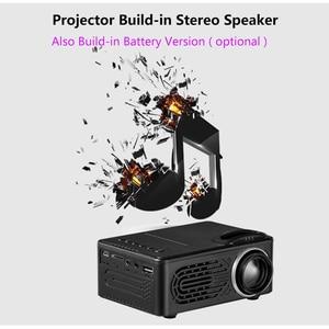 Image 5 - SmartIdea חדש מיני LED מקרן וידאו משחק נייד Proyector אודיו/AV/USB/SD לבנות ב סוללה אופציונלי זול מחיר
