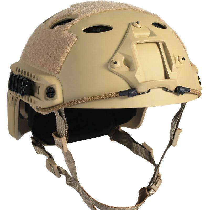 Armée militaire tactique casque couverture Airsoft casque visage masque Paintball protecteur