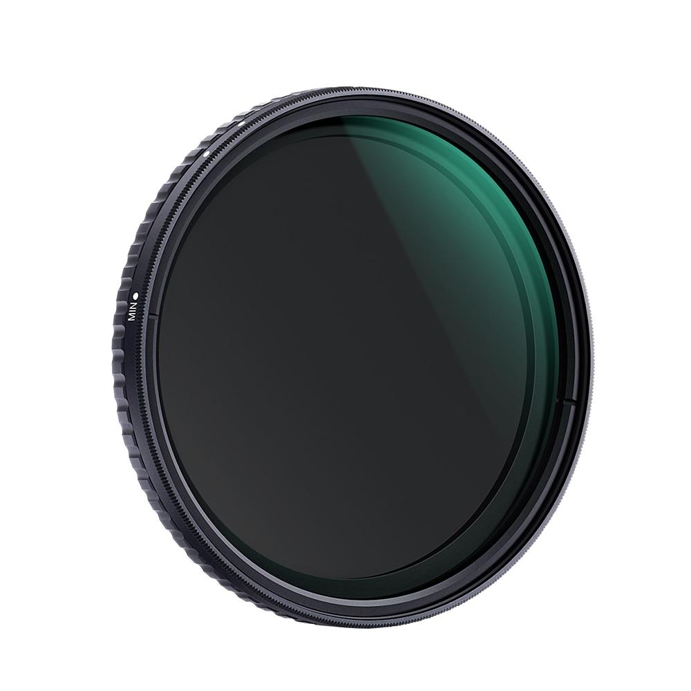 K F CONCEPT 72 67 58mm Adjustable Variable Neutral Density ND Filter Fader ND8 ND128 for