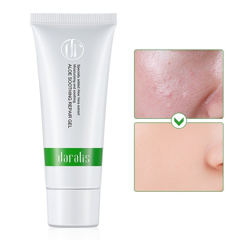 45g Aloe Vera Soothing Gel Remove Acne Moisturizing Cream Repair After-sun Treatment Acne Anti-inflammatory Aloe Vera Gel Care