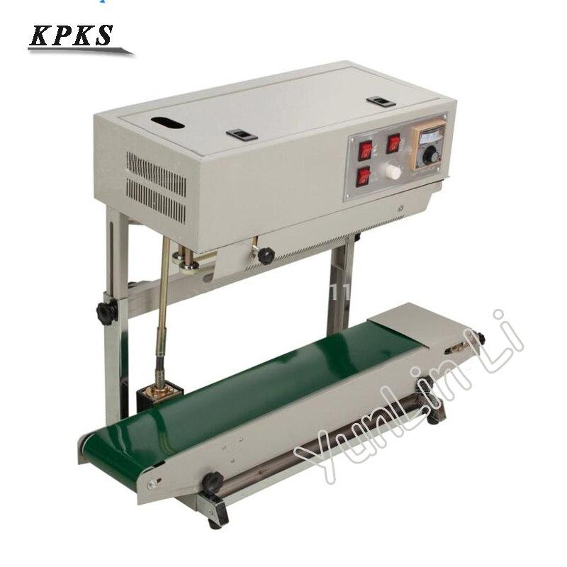 Vertical D'étanchéité Machine pour Sac En Plastique Populaire Scellant Machine De Soudage pour Liquide ou Paquet De Pâte En Mesure d'imprimer Date FR-900v