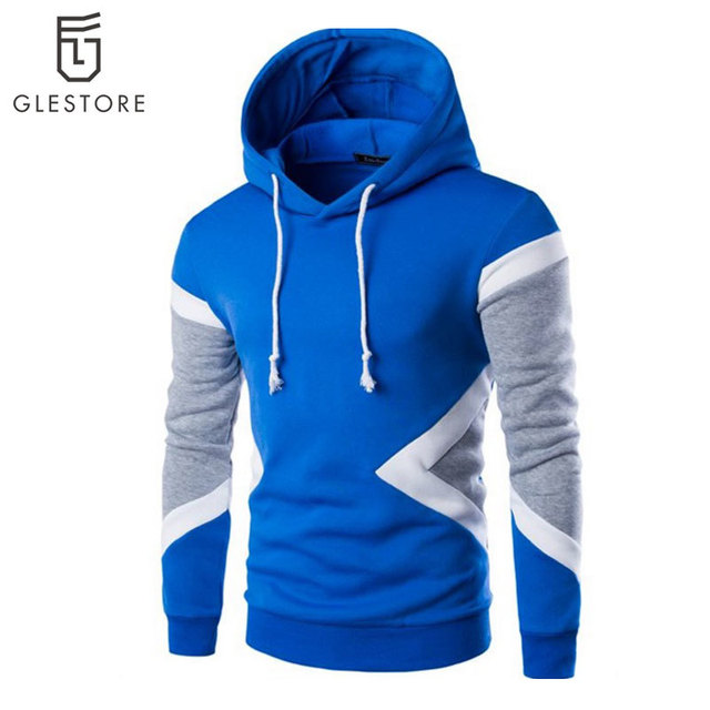 Glestore Mens Fashion Mixed Color Hoodies Thrasher Streetwear Sweatshirt Palace Hip Hop