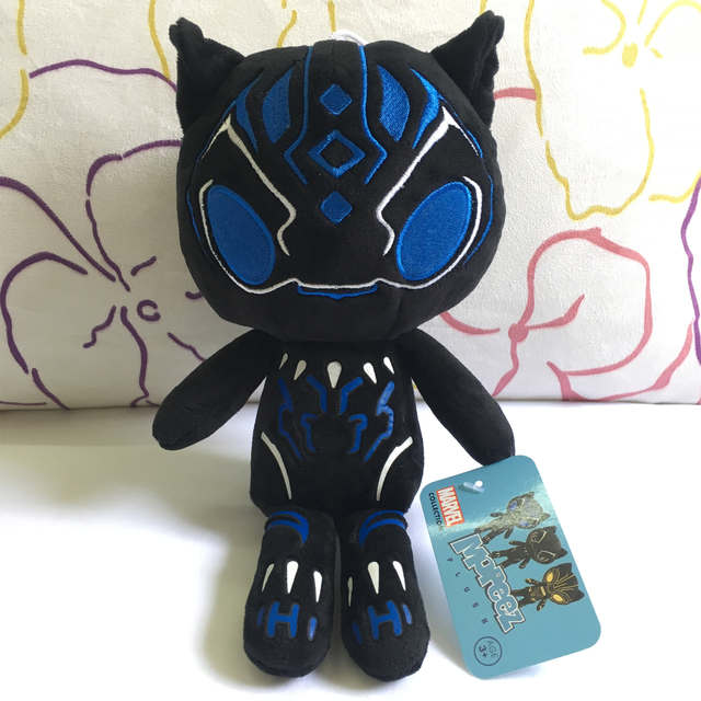 4c448e548179 2018 Hot Marvel The avengers Black Panther Plush Toy Stuffed Doll Action  Figure Toys For Boys Kids Children Birthday Gifts 25cm-in Movies & TV from  Toys ...