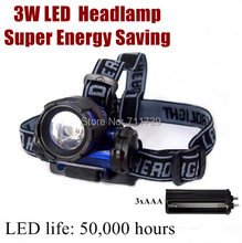 New Design! AloneFire HL70 3W LED Super Energy Saving outdoor multi-function led Headlight Headlamp for 3xAAA battery