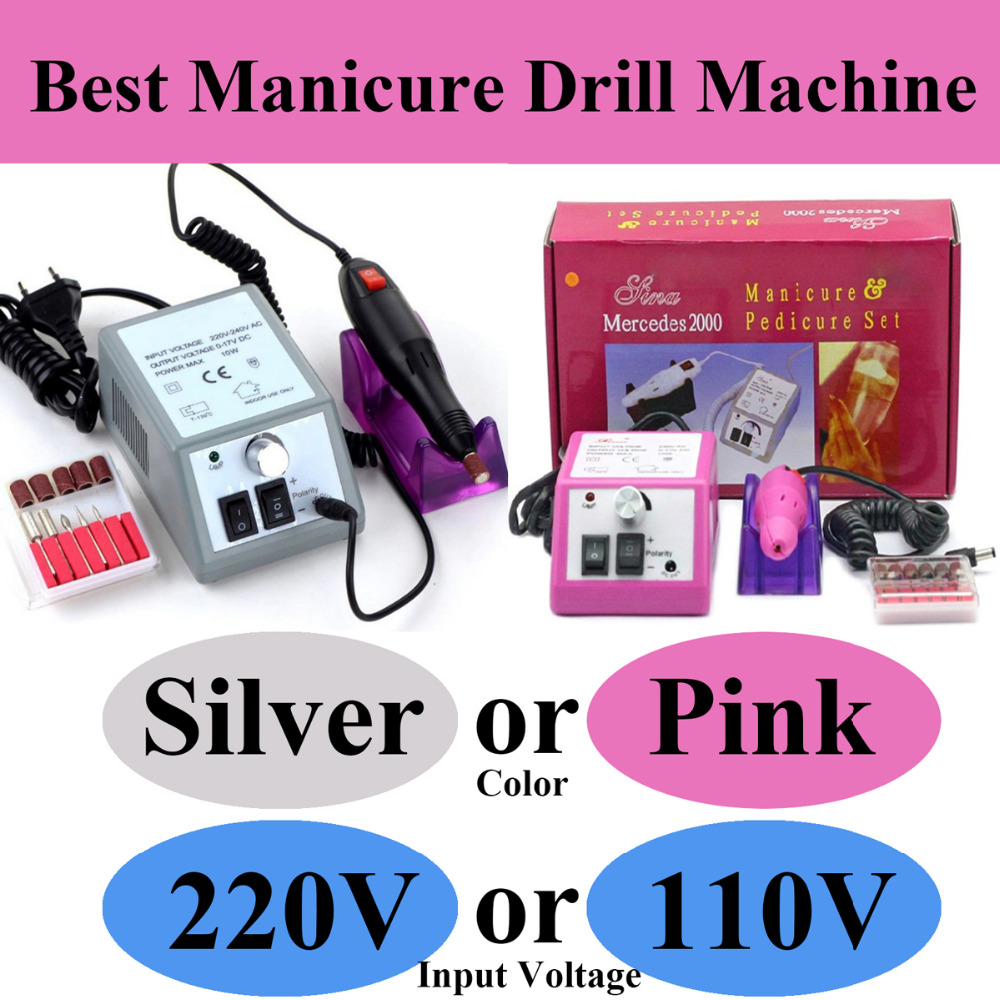 Best Manicure Drill set 20000 RPM electric nail polish machine polishing for all nails file polisher machine Nail Art Equipment new pattern beautiful first charge polish manicure machine portable 30000 high capacity nails drill nail art equipment