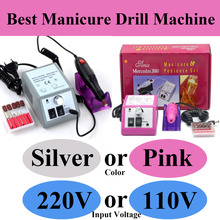 Manicure & Pedicure set 20000 RPM electric mill machine Nail polish drill sander Free Shipping