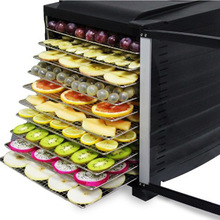 8/10 Layers Commercial Food Dehydrator for Mushroom Snacks Fruit Meat Dehydrated Drying Machine Dryer Stainless Steel