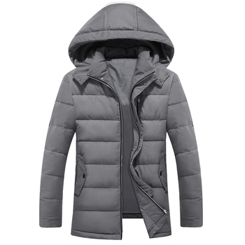 2018 New Men's Clothing Winter Jacket Long Coats with Hood for Leisure High-quality Parka Men Clothes Jacket plus size 3XL-9XL