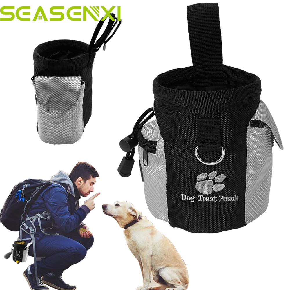 Portable Pet Dog Treat Pouch Dog Obediens