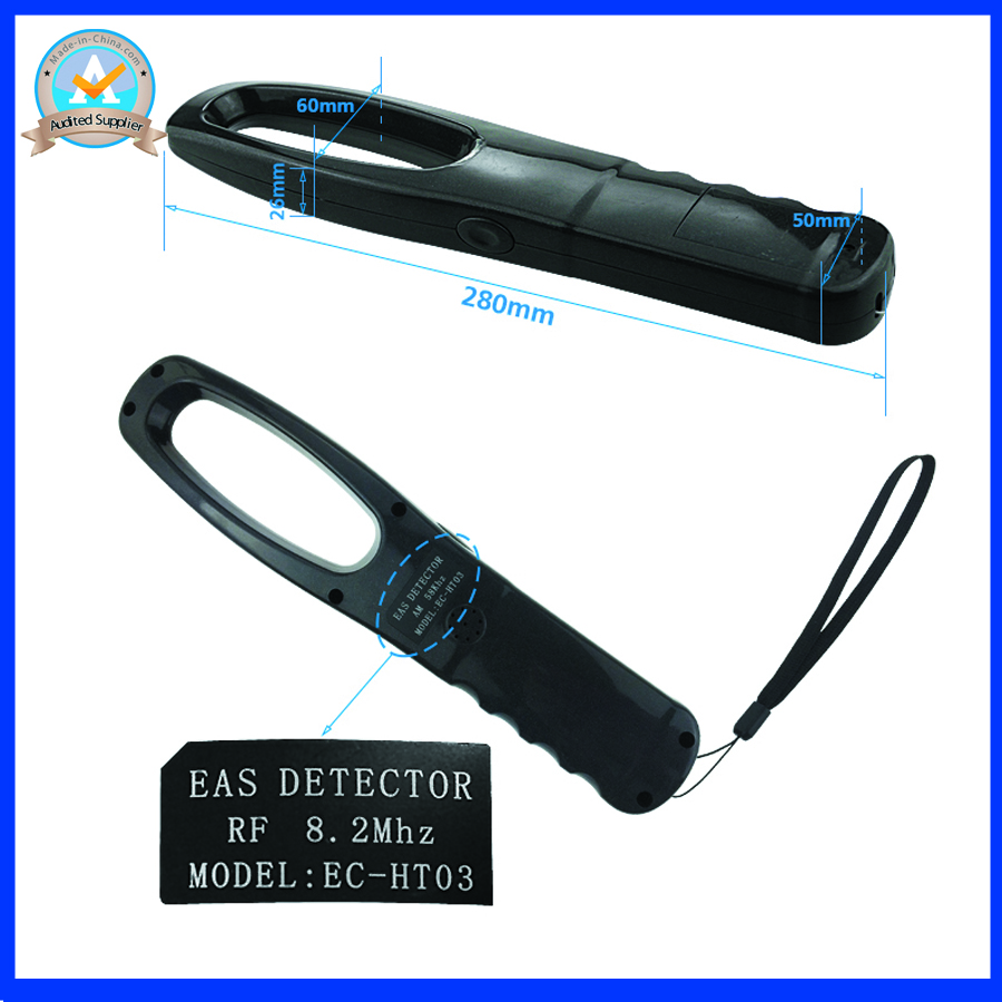 mini handheld eas system RF8.2Mhz anti theft devices for retail store eas label detector mini handheld rf