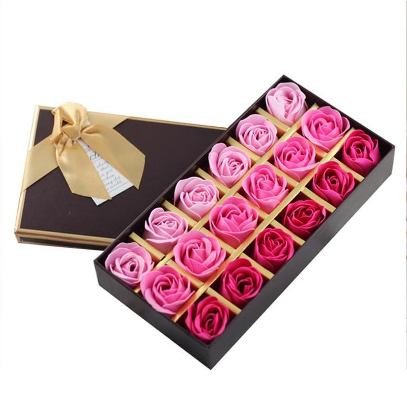 Flor de jabón de rosas caja de regalo para el día de la madre - Para fiestas y celebraciones - foto 5