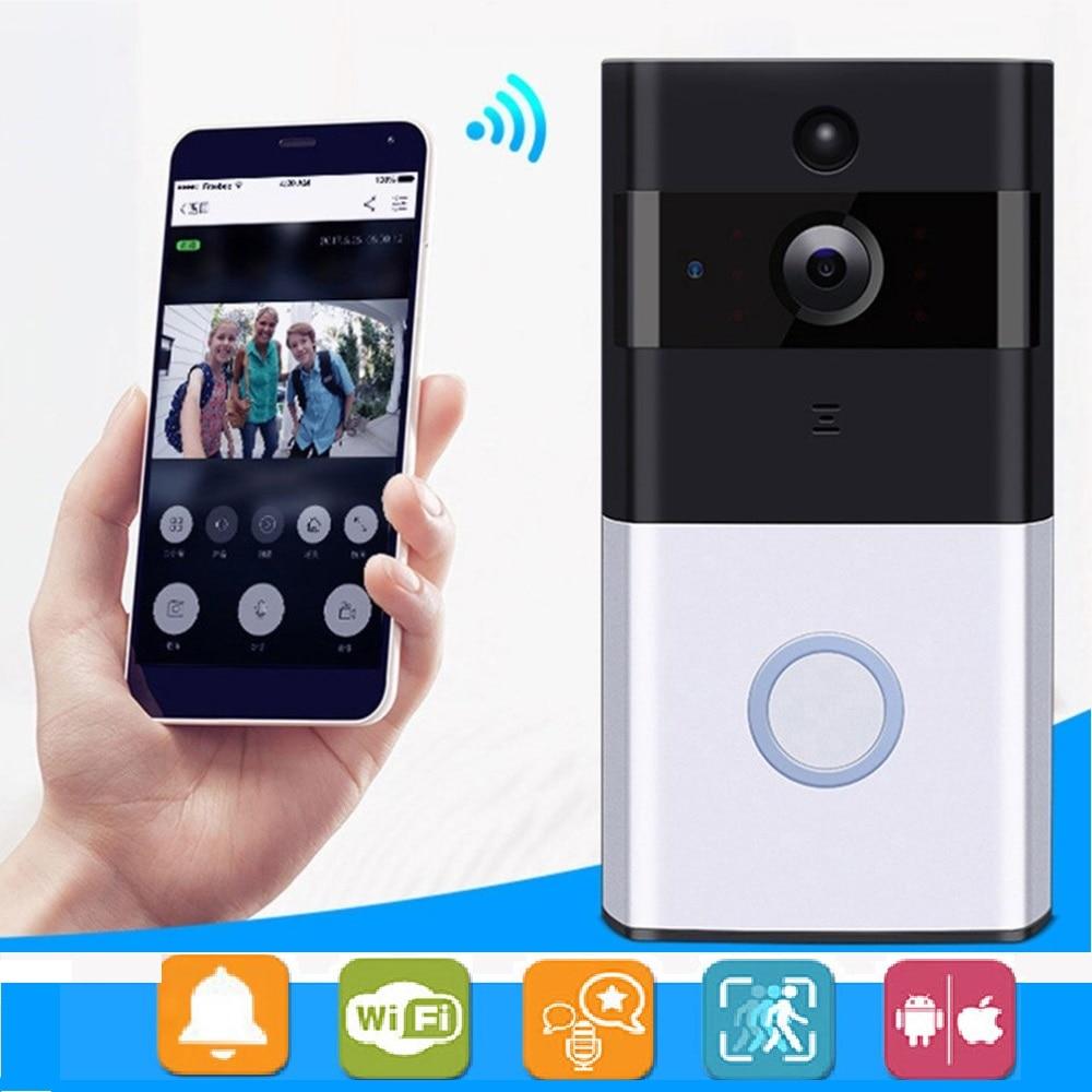 M1 дверной звонок Камера Беспроводной вызова звонок дома 720 P видео телефон WI-FI IP дверной звонок Ночное видение ИК охранной сигнализации домо...