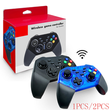 VIGRAND 1pc/2pcs Nintend Switch Bluetooth Wireless Pro Controller Gamepad Joypad Remote for Console Joystick Gift Boxes