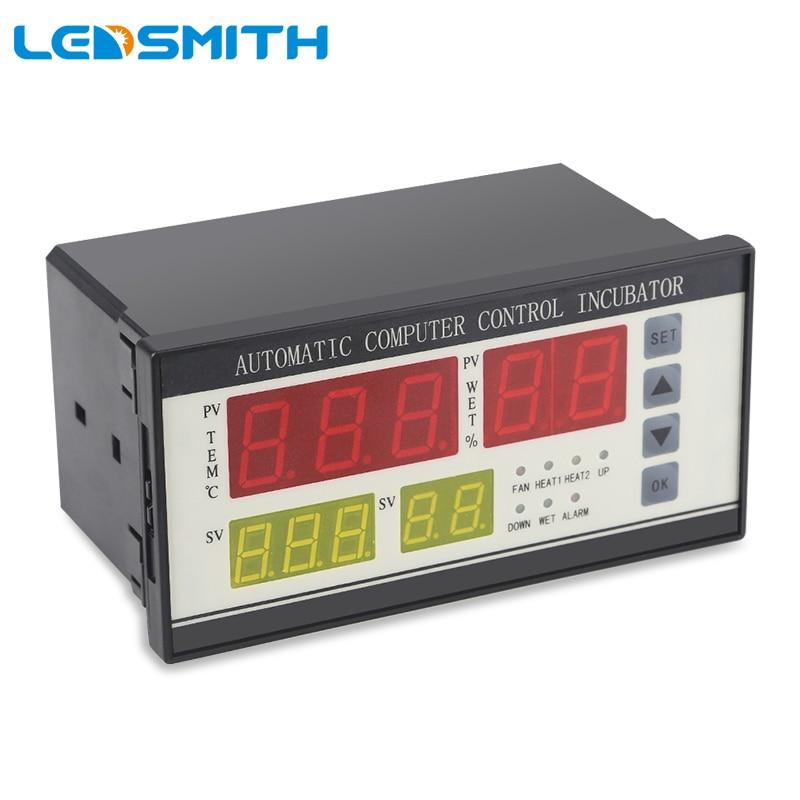 LEDSMITH XM 18 Multifunctional Automatic Incubator Thermostat Temperature Humidity Control Egg Incubator
