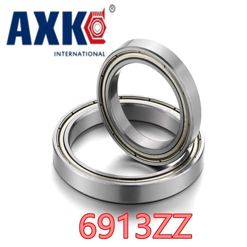 6913 ZZ 6913-2RS S6913ZZ S6913-2RS ABEC-1 (1PCS) 65x90x13MM  Metric Thin Section Bearings Free Shipping 1pcs 71901 71901cd p4 7901 12x24x6 mochu thin walled miniature angular contact bearings speed spindle bearings cnc abec 7