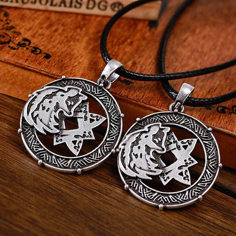 זאב טוטם סמל לאדה תליון קמע עתיק סלאבית פגאני תכשיטי וולף קמע תליון