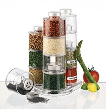 Tower Spin Carousel Spice Jar 12 pieces