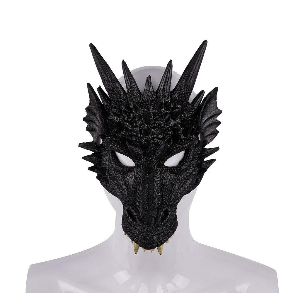 Halloween Costume Mask Wing Tail Dragon Cosplay Decor Carnival Dinosaurio