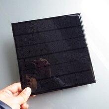Hot Sale 4 2W 18V Mini monocrystalline Mono solar cell battery 4 2W 5W PV Panel