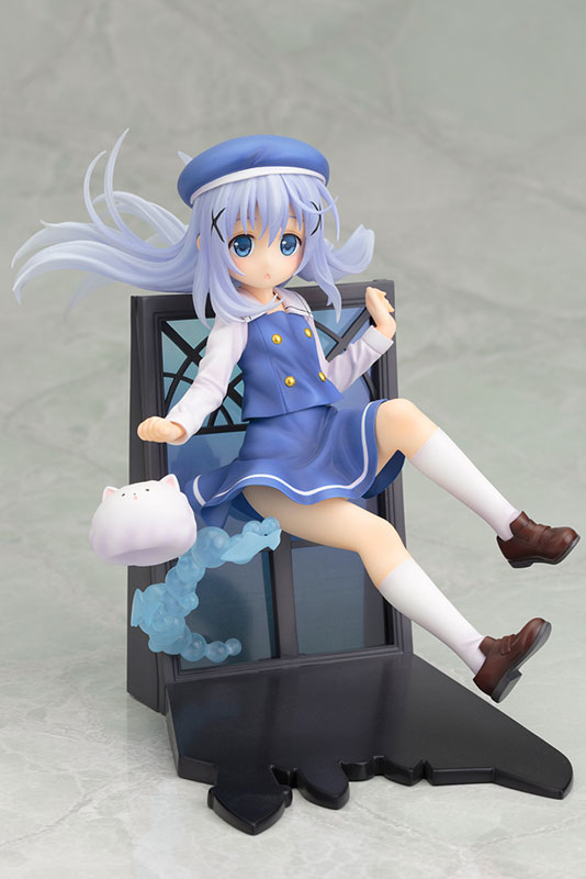 Japanese anime figure Is The Order A Rabbit? Kafuu Chino Action Figure 1/8 figure cute Chino Doll PVC ACGN figure Toy Brinquedos dc wow thrall the orc shamman action figure toys thrall the orc shamman doll pvc acgn figure collectible model toy brinquedos