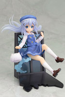 Japanese anime figure Is The Order A Rabbit? Kafuu Chino Action Figure 1/8 figure cute Chino Doll PVC ACGN figure Toy Brinquedos