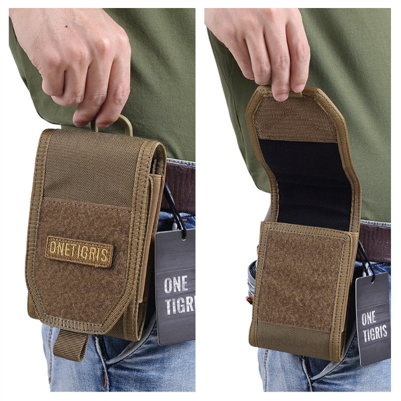HTB19BwQOFXXXXc9XXXXq6xXFXXXf - OneTigris MOLLE Tactical Hunting Waist Bag Smartphone Holder Pouch for iPhone6s SE iPhone6 Plus 8Plus iPhone X