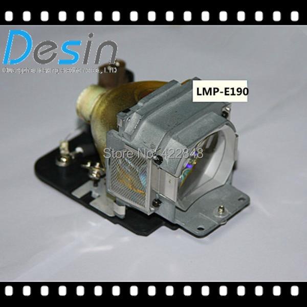 Projector lamp LMP-E190 for SONY VPL-ES5/VPL-EW5/VPL-EX5/VPL-EX50 Projectors free shipping compatible projector lamp lmp f272 for sony vpl fx35 vpl fh30 projectors
