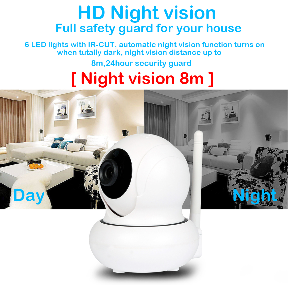 4X Zoomable IP Camera 1080P Auto Tracking WIFI PTZ Camera Infrared ip camera Onvif Network Port Wifi Face Tracking Security cam