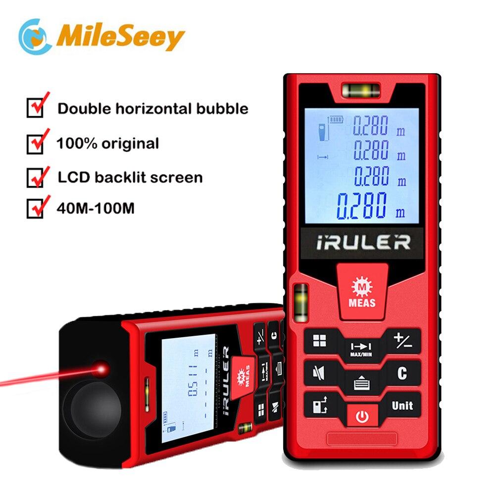 Mileseey S9 Laser-entfernungsmesser 40 m 60 m 80m100m herrscher Laser Abstand Meter Band Palette finder