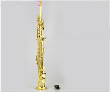 Soprano saxophone / wind Top music instruments YSS-82Z B flat one sax G key Goid Lacquer shipping