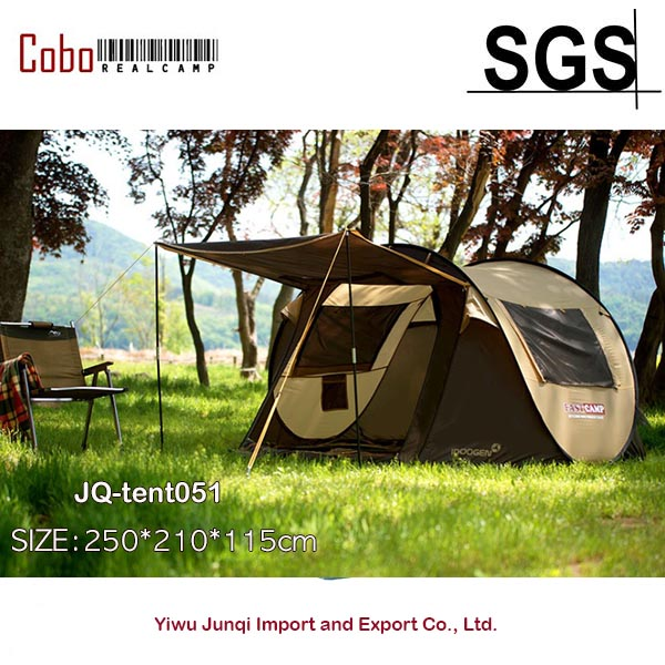08b054a56b3 Detail Feedback Questions about Fastcamp Super Big 4 5persons Instant Popup  tent with Door Pole One touch pop up fishing camping outdoor Family Tent on  ...