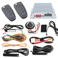 PKE car alarm system psssive keyless entry kit ,auto start  stop & push button start stop touch password entry trunk release