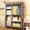 Wardrobe Closet Improvised Chest Steel Non-woven Wardrobe Steel reinforcement thickening assembly fold closed chest