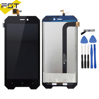 For 4.7 inch Blackview BV4000 LCD Display+Touch Screen 100% Tested Screen Digitizer Assembly with Frame Replacement BV 4000 Pro