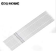 Bbq-Needle-Stick Barbecue-Skewers Shish Kebab Stainless-Steel Flat Bbq-Tools Outdoor