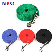 Nylon Dog Lead Leash Rope Outdoor Walking Running Training Panjang Leash untuk Anjing Kucing Persediaan 4 Warna 1.5M-6M Dropshipping