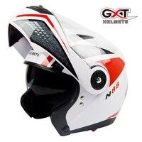 Otorcross Fashion Flip Up Moto Helmet Sun Visor Safety Double Lenses Motorcycle Helmet Certified Motorbike Helmet