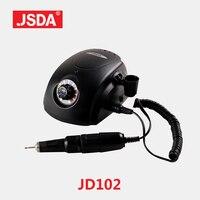 Direct Sell Jsda JD102h professional Manicure Pedicure Bits File Electric tools Drill Machine Nails Art Equipment 65w 35000rpm