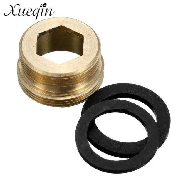 Xueqin Male M22*M24 Brass Faucet Connector adapter Dental Floss ...