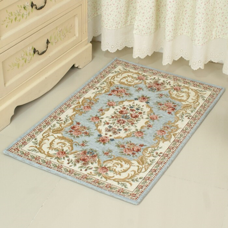 Retro Printing Carpet For Bedroom Bathroom Carpet Anti-Slip Floor Mat For Toilet Kitchen Carpet Bathroom Rug alfombra tapis bain