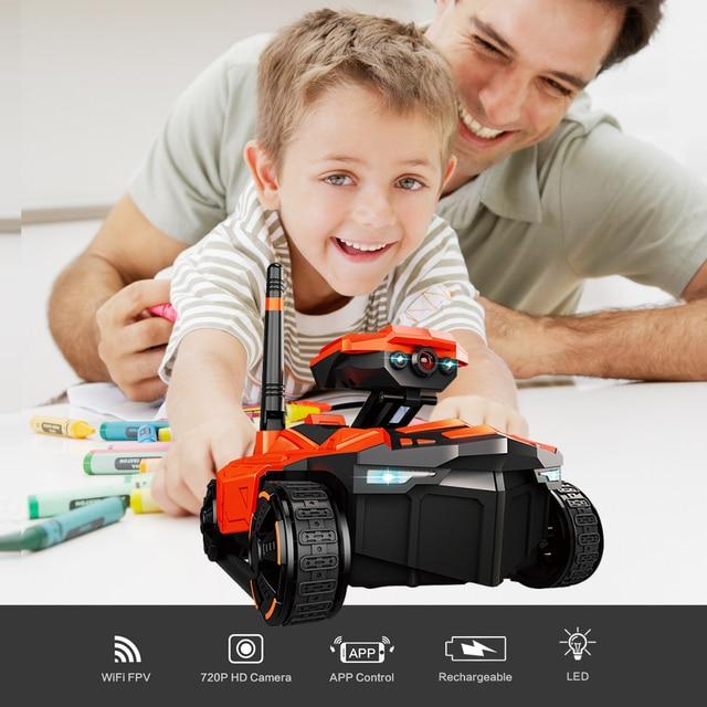 Tank Camera Drone – Wifi FPV w/ App Control 1