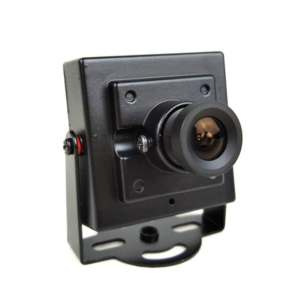 700TVL CMOS Wired Mini Micro Câmera de Segurança CCTV Digital 3.6mm Lente Corpo de Metal