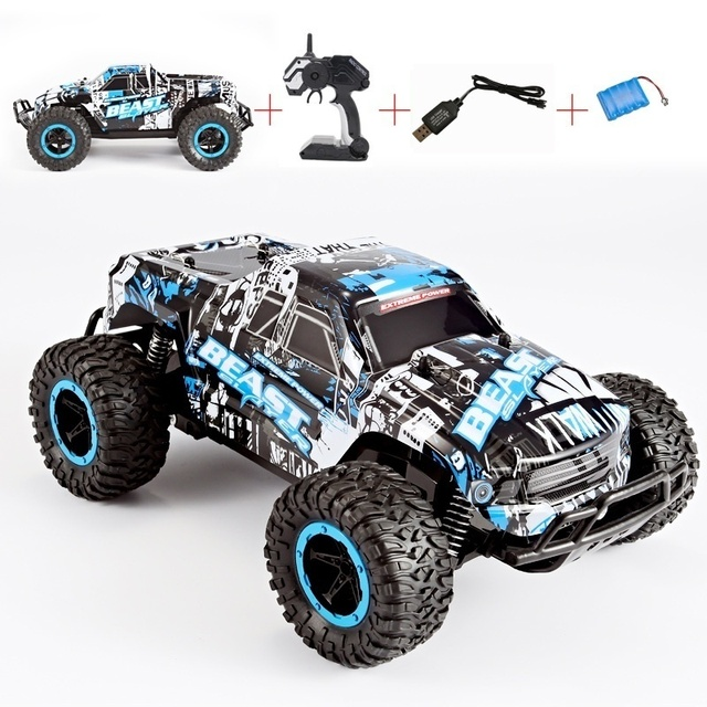 48KM/H High Speed RC Car 1:20 Electric Monster Car Off Road Vehicle Remote Control Toys for Kids 2